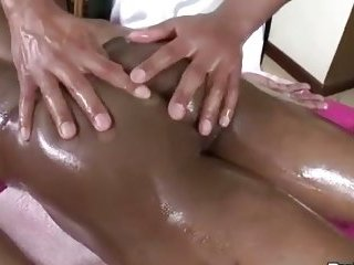 Prostate massage while fucking