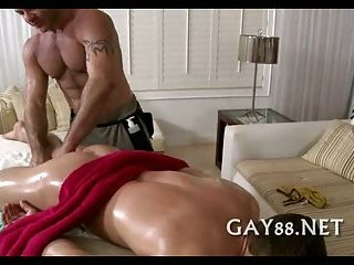 Getting balls in his ass