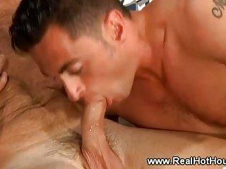 Older gay gives boy oral sex in return