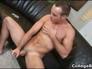 Devin adams wanking his fine college cock
