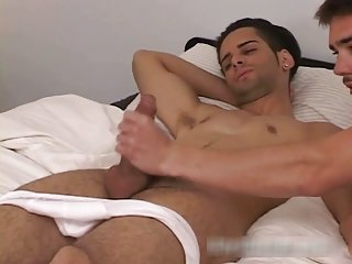 Free gay clips of Zack getting his gay jizzster jerked