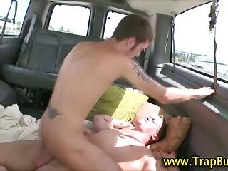 Reluctant straighty lets gay ass ride