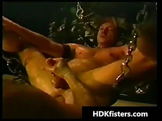Extreme barely legal gay ass fisting