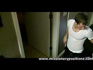 Naughty gay seduces innocent straight dude
