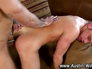 Lucky hunk fucked by Austin Wilde