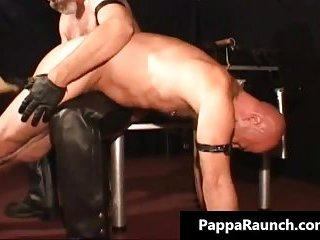 Horny nasty kinky gay guy gets tied and gets his ass spanked