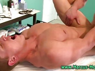 Cumshot for Marcus Mojo affer anal session