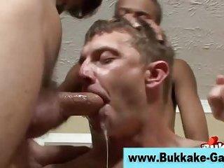 Gay group ass fuck bukkake