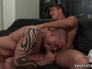 Two super sexy hunks Dominic Valentine and Jordan Deep