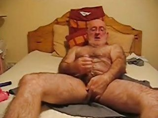 Mature Stud Toying His Butt