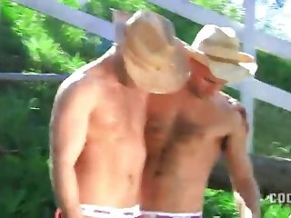 Horny Cowboys Protected Banging