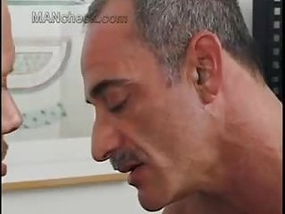 Mature guys sucking