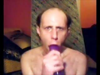 Mature Amateur Playing A Dildo