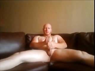 Raunchy Gay Guy Solo Wanking
