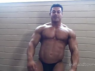 Tied Body Builder Gets Tickled