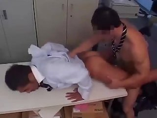 Asian Office Workers Gone Wrong