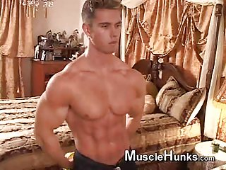 Cute Body Builder Teasing