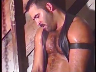 Gay Bears In Leather Making Out