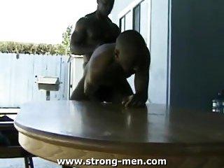 Lustful gay mates sucking fucking