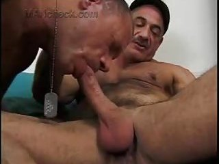 Naughty Dudes In Uniform Fucking