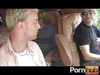 Randy Dude Giving Head In A Car