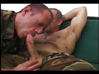 naughty studs in uniform sucking fucking