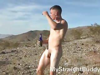 Hot Nude Guy Outdoor