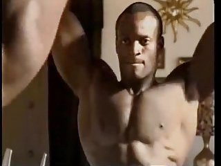 Black Bodybuilders In Gym