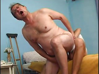 Horny Mature Man Gets Banged