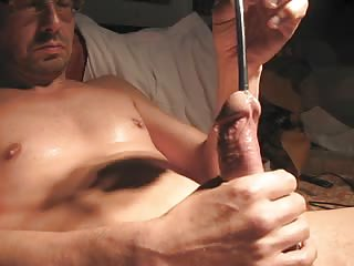 Naughty Amateur Stuffing His Cock