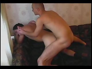 Amateur dudes doggy style on webcam