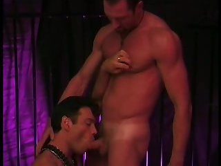 Gay cock blowing  and ass fucking