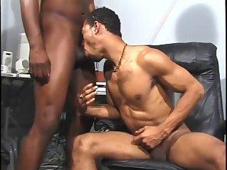 Black dudes office sex