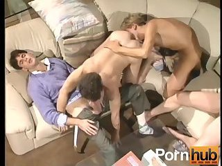 Luscious Trio Ass Pounding