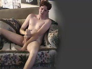 Cute Twink Solo Masturbation