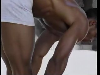 Hot Interracial Body Builders In Gym