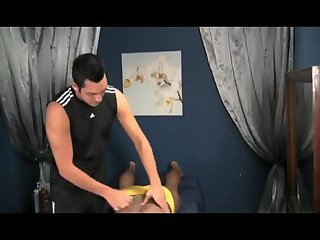 Luscious Masseur Fucking His Client