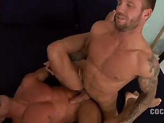 randy guys in tats ass penetration