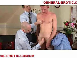 Alec gets nude in office