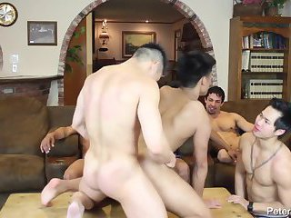 Asian gays ass fucking