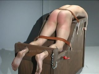 Awesome spanking at the reform school