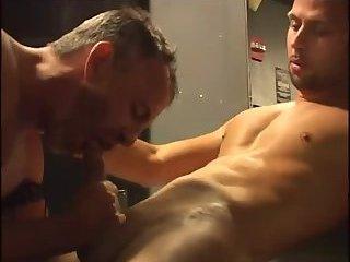 Naughty gays enjoy blowjob