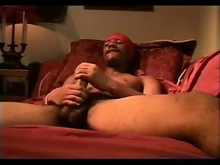 Black stud with long dick jerking