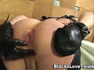 Amateur bdsm black fucks whitey