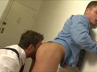 Randy boyz in tats sucking pounding