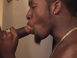 Two black gays ass banging