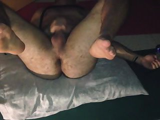 Dirty slave self fuck hard and rough transpounder