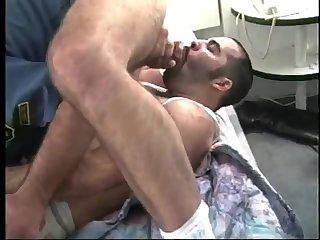 Randy Dudes In Uniform Sucking & Fucking