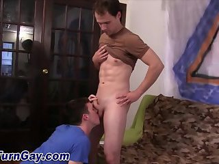 that knows amazed hunks enjoy a sticky group wank and fuck can't afford