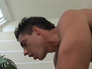 Man ass hole banged hard